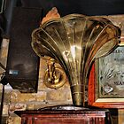 Old Gramophone by Karen Martin