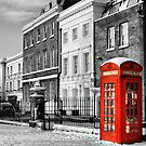 Red Telephone Box by Karen Martin