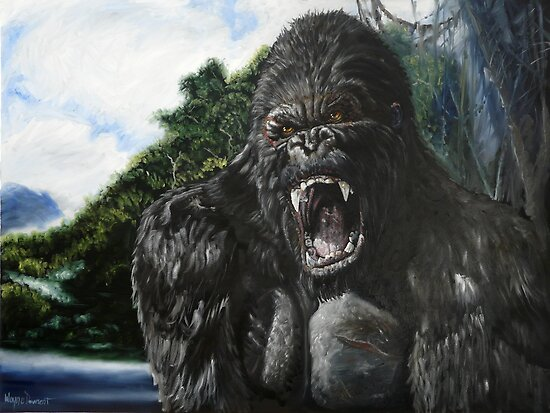 KONG by Wayne Dowsent