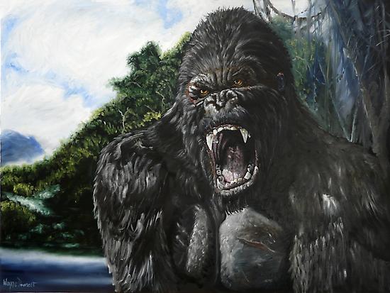 KONG by Wayne Dowsent
