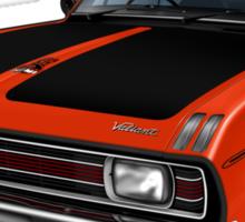 Chrysler Valiant VG Pacer Coupe - Hemi Orange Sticker