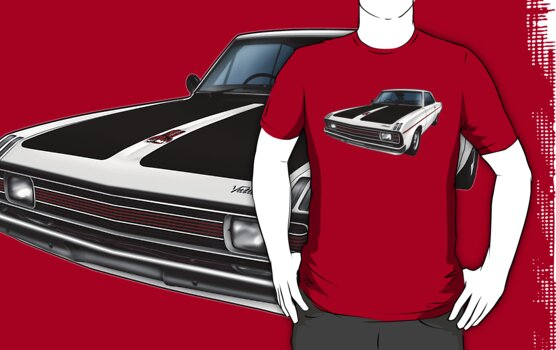 Chrysler Valiant VG Pacer Coupe - White by tshirtgarage