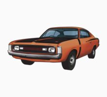 Chrysler Valiant VH Charger - Orange Kids Clothes