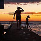 dawn swimmers by Juilee  Pryor