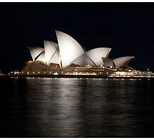 Sydney Opera House At Night. by JoeJoeInc