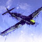 Messerschmitt Bf 109 by ArtPrints