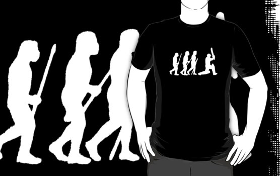 evolution of cricket white silhouette by ralphyboy