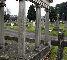 Parkstone Cemetery at Yule by Scott Irvine