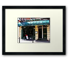 JEWEL IN THE CROWN Framed Print