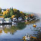 Hackett's Cove Nova Scotia by Frank Boudreau