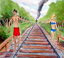 Track Walkers by BobHenry