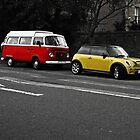 VW and Cooper I by Matthias Keysermann