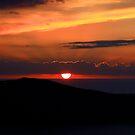 Santorinin sunset by adouglas