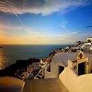 windmill sunset by adouglas