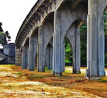 Under Yaquina Bridge....Newport, Oregon by trueblvr