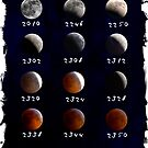 Lunar Eclipse Map  by Blake Rudis