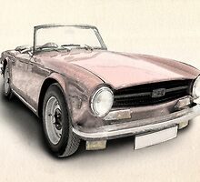 Triumph TR6 by ArtPrints