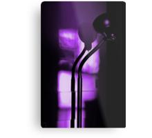 freakin in a purple haze... with a snake lamp Metal Print
