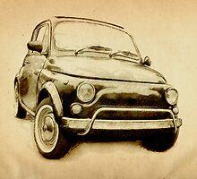 Fiat 500L 1969 by Michael Tompsett