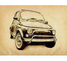 Fiat 500L 1969 Photographic Print