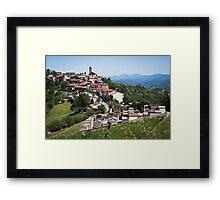 Montabone Framed Print