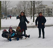 Snow Fun by Janone
