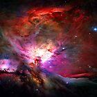 Orion Nebula by Michael Tompsett