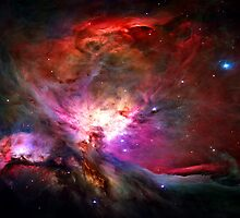 Orion Nebula by Michael Tompsett