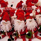 Season's Greetings - A Flurry of Father Christmas's by BizziLizzy
