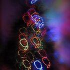 christmas abstract  by karolina