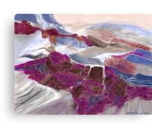 """Hidden Hills""  - The secret hills deep in Idaho. Canvas Print"