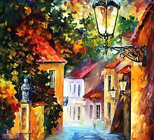 EVENING - Original Art Oil Painting By Leonid Afremov by Leonid  Afremov
