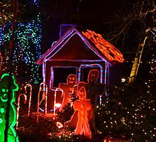 Festival of Lights...Gingerbread House by Carol Clifford