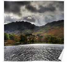 Haystacks and Seat from Buttermere, Cumbria, England Poster