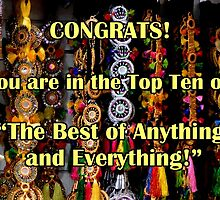 "Banner challenge Top Ten  ""The Best of Anything and Everything"" by patjila"
