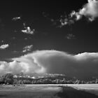 Afternoon Clouds - Irish Bend by Yih-Tai  Chen