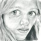 Chelsea Kerwath portrait by ArtLuver