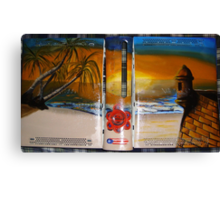 XBOX 360 PUERTORICO BEACH 2 Canvas Print