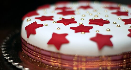 Christmas Cake by Paul Louis Villani