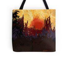 """""""Rising Sun  Tote Bag"""
