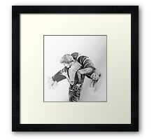To hold of not to hold Framed Print
