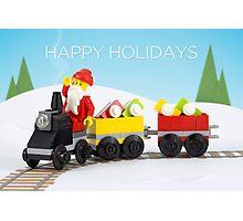 Santa's Train Photographic Print