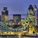 The City Of London - HDR by Colin J Williams Photography