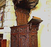The Lenham Pulpit by Dave Godden