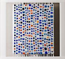 Fabric of Life I by Marian Shapiro