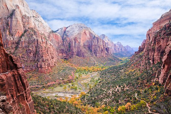 Zion Canyon National Park by Nickolay Stanev
