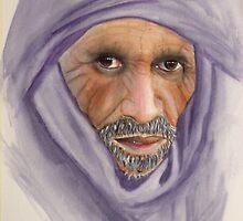 """Tuareg Elder"" by sooziii"