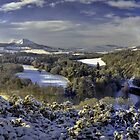 Winter from Scott's View by Ranald