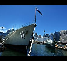 DARLING HABOUR No11 -NSW AUSTRALIA by DANNY HAYES