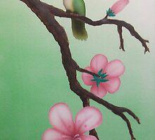 Hummingbird Pair by Devaron